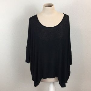 Anthropologie Sparkle & Fade Slouchy Knit Top
